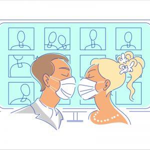Casatorie pe Zoom